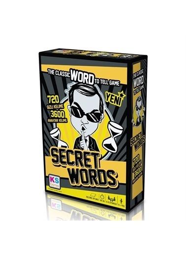 KS Puzzle KS Puzzle T131 Secret Words Kelime Oyunu Renkli
